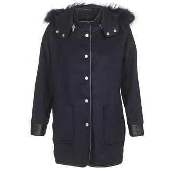 Oblačila Ženske Plašči Suncoo ELFIE Modra