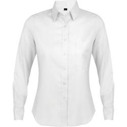 Oblačila Ženske Srajce & Bluze Sols BUSINESS WOMEN Blanco