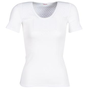 Spodnje perilo Ženske Spodnje majice Damart FANCY KNIT GRADE 4 Bela