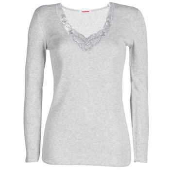 Spodnje perilo Ženske Spodnje majice Damart FANCY KNIT GRADE 4 Siva