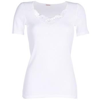 Spodnje perilo Ženske Spodnje majice Damart CLASSIC GRADE 3 Bela