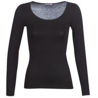 Spodnje perilo Ženske Spodnje majice Damart MICROFIBRE GRADE 2 Črna