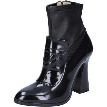 Čevlji  Ženske Gležnjarji Roberto Botticelli Gležnarji BS280 Črna
