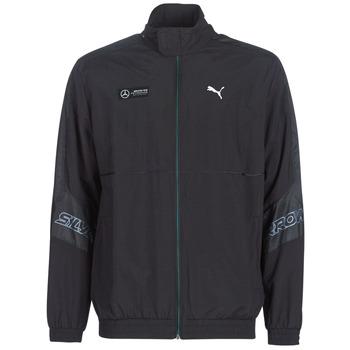 Oblačila Moški Športne jope in jakne Puma MAPM STREET WOVEN JACKET MERCEDES Črna