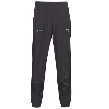 Oblačila Moški Spodnji deli trenirke  Puma MAPM STREET WOVEN PANTS MERCEDES Črna