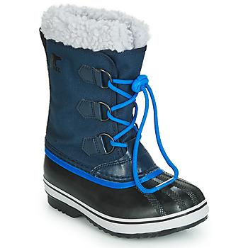 Čevlji  Otroci Škornji za sneg Sorel YOOT PAC NYLON Modra