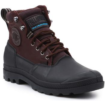 Čevlji  Moški Polškornji Palladium Manufacture Sport Cuff WP 2.0 75567-222-M brown, black