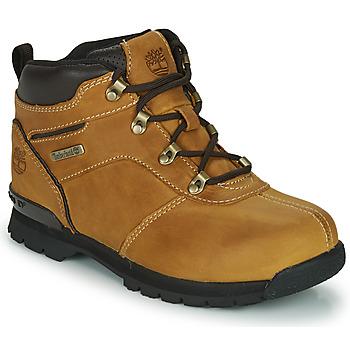 Čevlji  Otroci Polškornji Timberland SPLITROCK 2 Kostanjeva