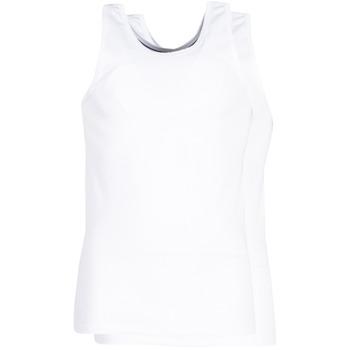 Spodnje perilo Moški Spodnje majice DIM X-TEMP TOPS X 2 Bela