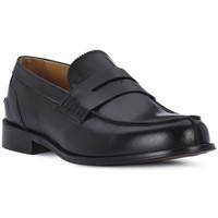 Čevlji  Moški Mokasini Exton VITELLO NERO Nero