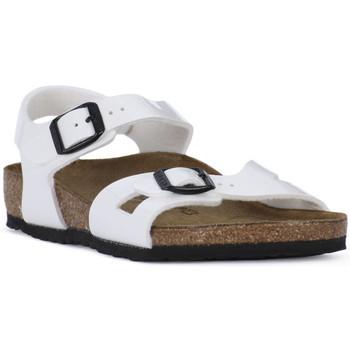 Čevlji  Dečki Sandali & Odprti čevlji Birkenstock RIO WHITE Bianco