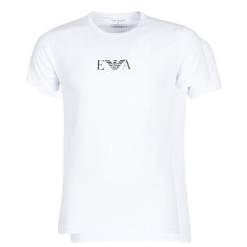 Oblačila Moški Majice s kratkimi rokavi Emporio Armani CC715-111267-04712 Bela