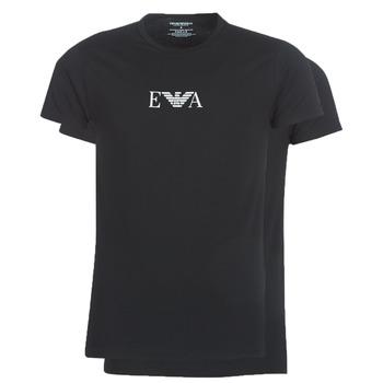 Oblačila Moški Majice s kratkimi rokavi Emporio Armani CC715-111267-07320 Črna