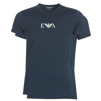 Oblačila Moški Majice s kratkimi rokavi Emporio Armani CC715-111267-27435 Modra