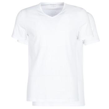Oblačila Moški Majice s kratkimi rokavi Emporio Armani CC722-111648-04710 Bela