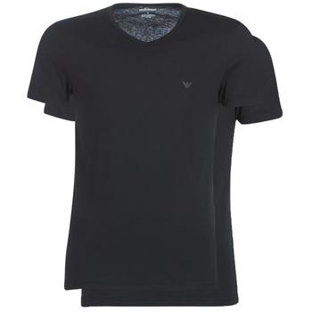 Oblačila Moški Majice s kratkimi rokavi Emporio Armani CC722-111648-07320 Črna