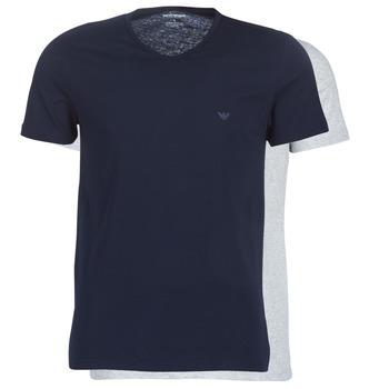 Oblačila Moški Majice s kratkimi rokavi Emporio Armani CC722-111648-15935 Siva