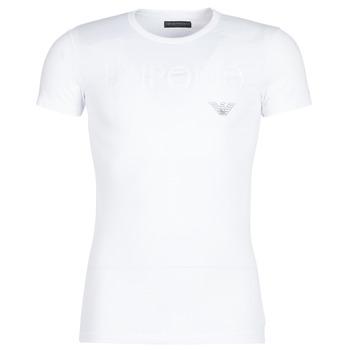 Oblačila Moški Majice s kratkimi rokavi Emporio Armani CC716-111035-00010 Bela