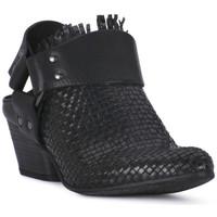 Čevlji  Ženske Cokli Juice Shoes INTRECCIATO NERO Nero