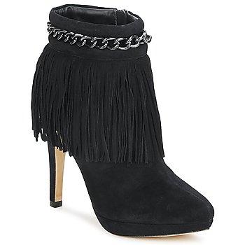 Čevlji  Ženske Gležnjarji Bourne SANDY Črna