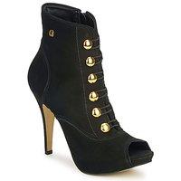 Čevlji  Ženske Gležnjarji Carmen Steffens 6912030001 Črna