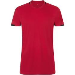 Oblačila Moški Majice s kratkimi rokavi Sols CLASSICO SPORT Rojo