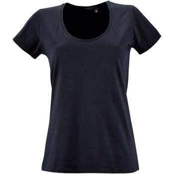 Oblačila Ženske Majice s kratkimi rokavi Sols METROPOLITAN CITY GIRL Azul
