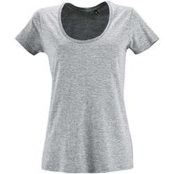 Oblačila Ženske Majice s kratkimi rokavi Sols METROPOLITAN CITY GIRL Gris