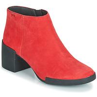 Čevlji  Ženske Gležnjarji Camper LOTTA Rdeča
