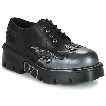 Čevlji  Moški Čevlji Derby New Rock M-1553-C3 Črna