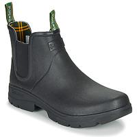 Čevlji  Moški škornji za dež  Barbour FURY CHELSEA Črna