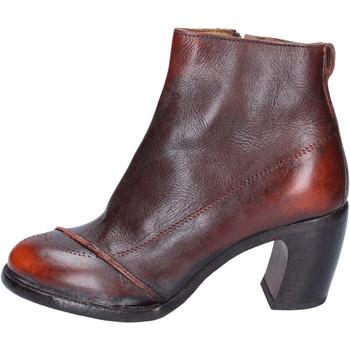 Čevlji  Ženske Gležnjarji Moma BS433 Oranžna