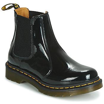 Čevlji  Ženske Polškornji Dr Martens 2976 PATENT LAMPER Črna