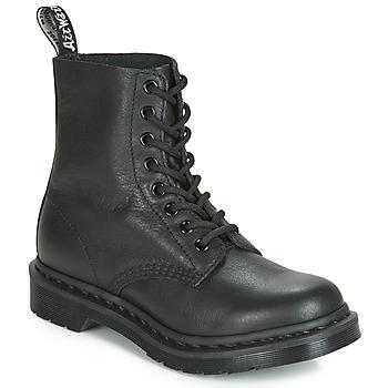 Čevlji  Ženske Polškornji Dr Martens 1460 PASCAL MONO Črna