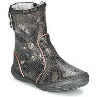 Čevlji  Deklice Mestni škornji    Catimini CLABAUD Bronze / Črna