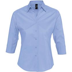 Oblačila Ženske Srajce & Bluze Sols EFFECT ELEGANT Azul