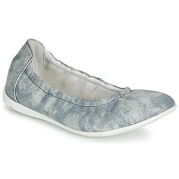 Čevlji  Deklice Balerinke Ramdam LIBRE Modra