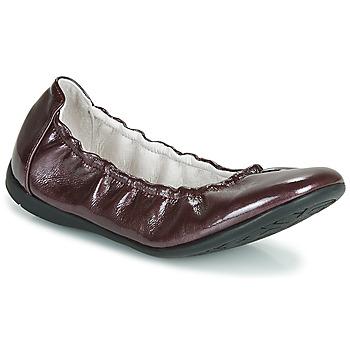 Čevlji  Deklice Balerinke Ramdam LIBRE Bordo