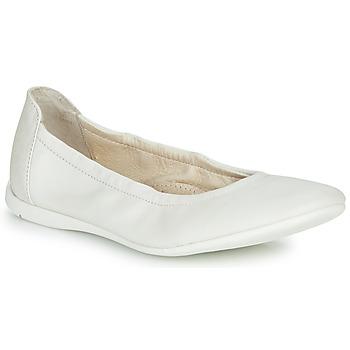 Čevlji  Deklice Balerinke Ramdam LIBRE Bela