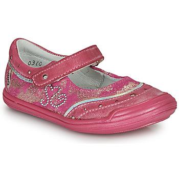 Čevlji  Deklice Balerinke GBB ILEANA Rožnata