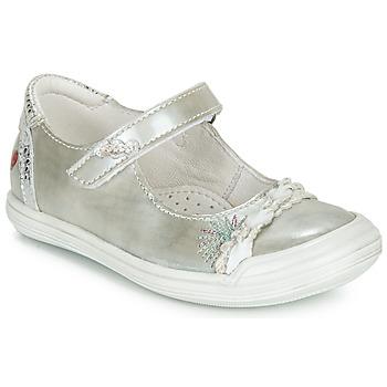 Čevlji  Deklice Balerinke GBB MARION Srebrna