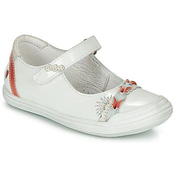 Čevlji  Deklice Balerinke GBB MARION Bela