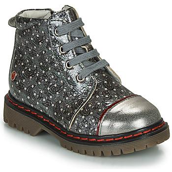 Čevlji  Deklice Polškornji GBB NEVA Siva