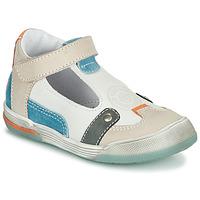 Čevlji  Dečki Sandali & Odprti čevlji GBB PERCEVAL Bela / Bež / Modra