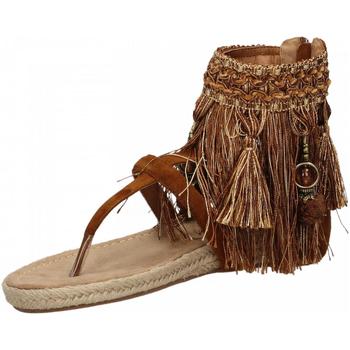 Čevlji  Ženske Sandali & Odprti čevlji La Carrie INDRADITO C.FRANGE brown-marrone