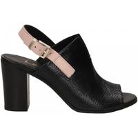 Čevlji  Ženske Sandali & Odprti čevlji Lemaré FIESOLE nero-rosa-3390