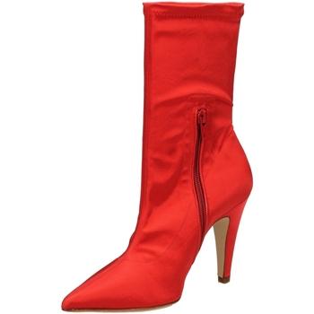 Čevlji  Ženske Gležnjarji Giampaolo Viozzi RASO DESTINO rosso-rosso