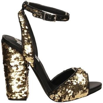 Čevlji  Ženske Sandali & Odprti čevlji Steve Madden RITZY gold-oro