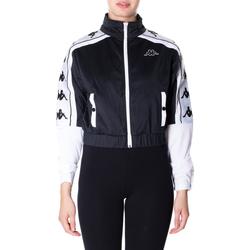 Oblačila Ženske Puloverji Kappa BANDA 10 ANTEY 903-nero-bianco