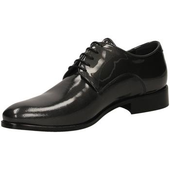 Čevlji  Moški Čevlji Derby Carlo Pignatelli CERIMONIA accia-acciaio